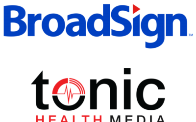Tonic Health Media selects BroadSign International for Digital Out-of-Home health TV network